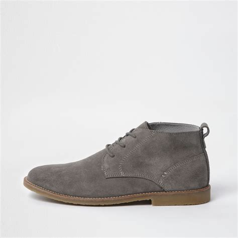 light grey suede boots light grey suede desert boots boots shoes boots men