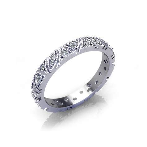 Vintage Wedding Ring Design by Vintage Millgrain Wedding Ring Jewelry Designs