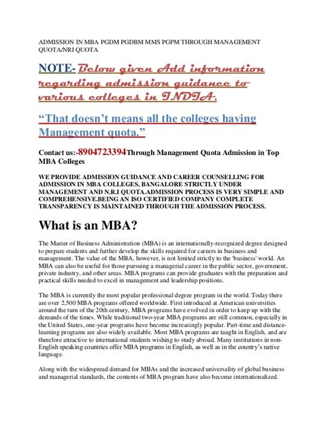 Mba Information Management Notes by Mba Course In India Admission Top Through