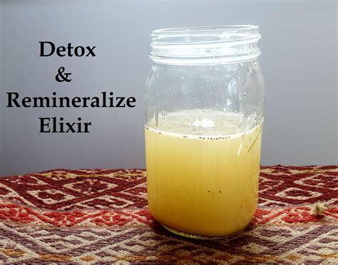 Lemon Detox Elixir by Detox And Remineralize Your With This Powerful Elixir