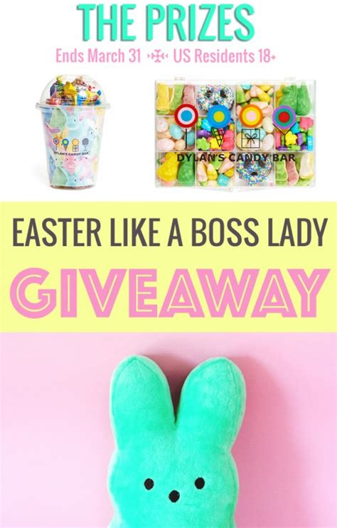 easter gift guide dylan s candy giveaway think like a boss lady created by lisa - Easter Giveaway