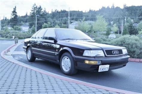 how to fix cars 1990 audi v8 auto manual 1990 audi v8 quattro german cars for sale blog