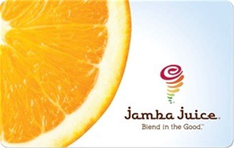 Jamba Juice Gift Card Promotion - jamba juice gift cards review