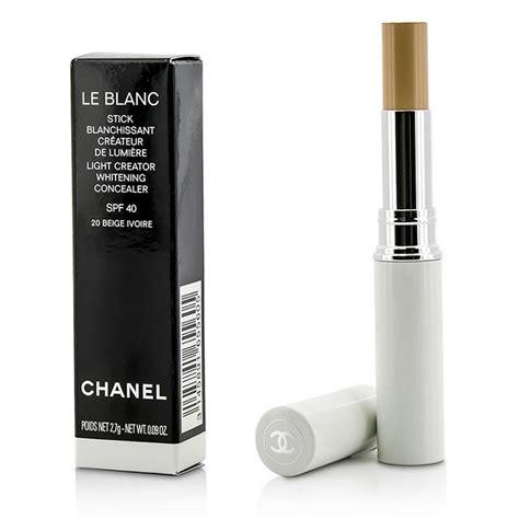 Whitening Spf 40 Pink chanel new zealand le blanc light creator whitening concealer spf 40 20 beige ivorie by