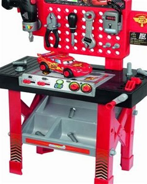cars tool bench toy workbench