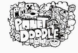 doodle pemula maulina s contoh hasil karya doodle sang pemula