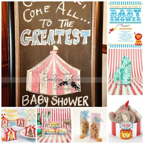 Circus Baby Shower Ideas by Circus Baby Shower Inspiration Board Practical Baby