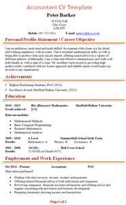 accountant cv template