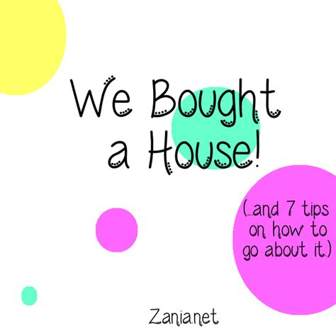 we bought a house we bought a house zania