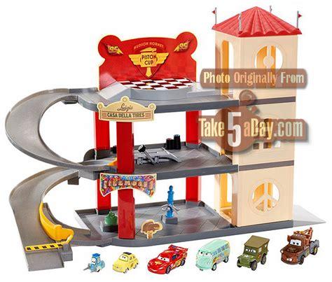 Disney Cars Garage by Take Five A Day 187 Archive 187 Mattel Disney Pixar Cars