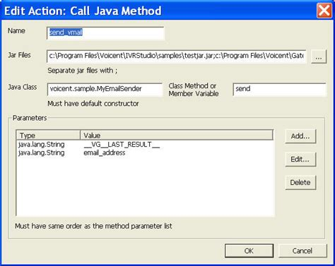 email template java ivr use java to send voicemail to email voicent