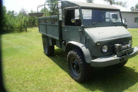 mercedes unimog 4x4 truck jeep army road 1962 no