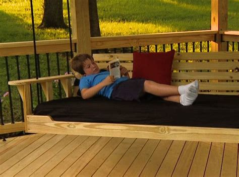 swing sally up swing sally down porch bed swing shop project sally s house pinterest