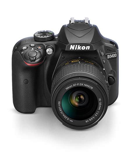 nikon d3400 dslr interchangeable lens dslr with snapbridge connectivity