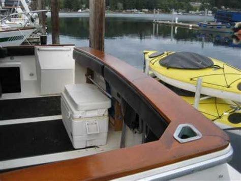 finishing teak wood on a boat integrity finishing inc boat teak restoration youtube