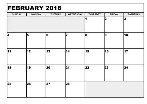 printable calendar blank 2018 blank printable calendar 2018 activity shelter