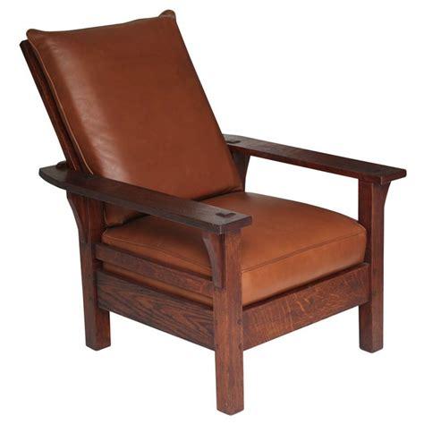 stickley morris chair plans l jg stickley morris chair c 1915 arts crafts