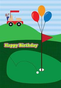 golf birthday card birthday celebrations