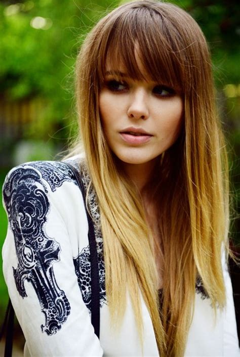 brunette hairstyles with bangs 2014 10 long hairstyles with bangs for 2014 popular haircuts