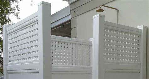 pvc outdoor shower pvc outdoor shower cubicle absolut fencing