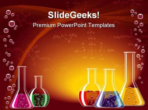 science template powerpoint laboratory glasses science powerpoint templates and