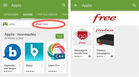 mobile play store les applis free mises en avant sur le play store