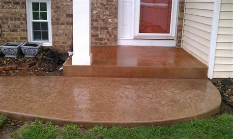 Acid Washed Concrete Driveway Concrete Acid Staining Acid Wash Concrete Patio