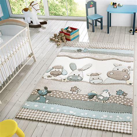teppich kinder kinder teppich moderner spielteppich bauernhof tiere