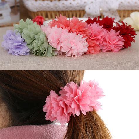Korek Api Motif Floral Silver Murah karet ikat rambut model flower 1pcs navy blue jakartanotebook