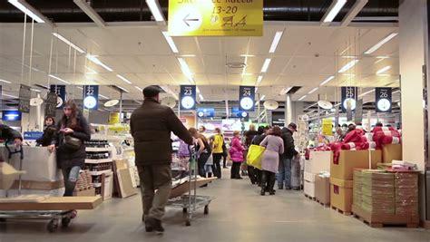 ikea marketplace saint petersburg russia circa jan 2015 interior of