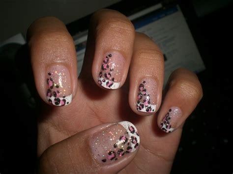 easy nail art cheetah trendy nail art designs