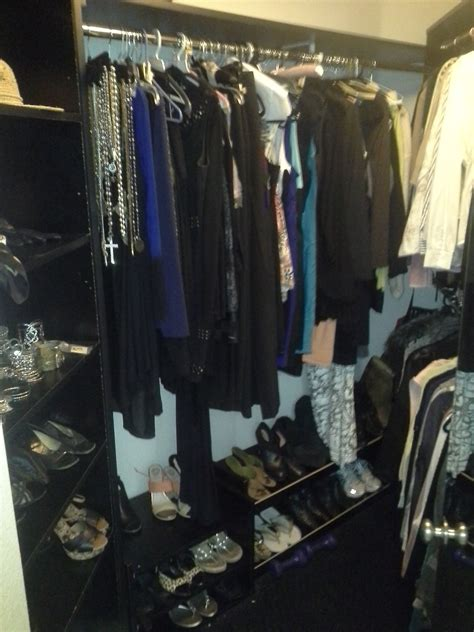 closet reorganization cull consign discard donate