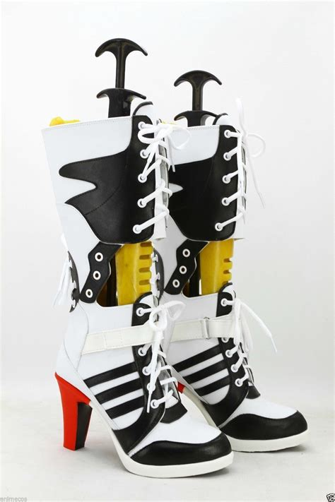 dc high heel shoes batman dc comics squad harley quinn shoes