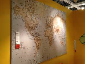 World Map Ikea by Mad For Mid Century Travel Themed Nursery Items At Ikea