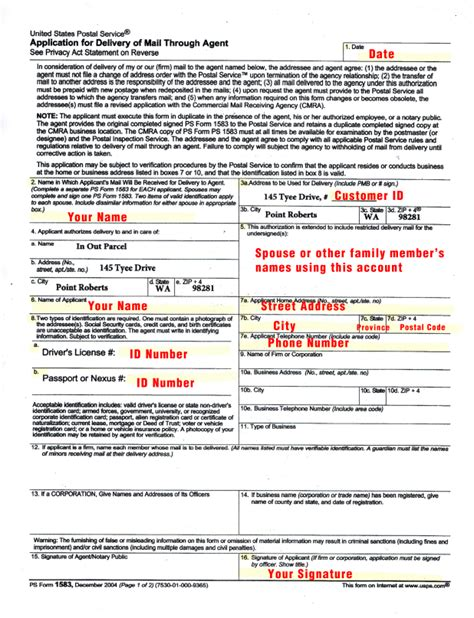Does The Post Office Notarize by How To Complete The Usps Form 1583 In 3 Minutes