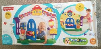 fisher price laugh and learn learning home baby house