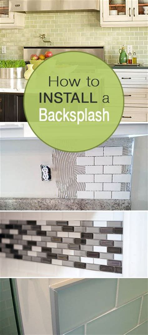 how to install a kitchen backsplash how to install a backsplash the budget decorator