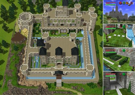 Twilight House Floor Plan by Mod The Sims Zelda Castle Inspired By Ocarina Of Time