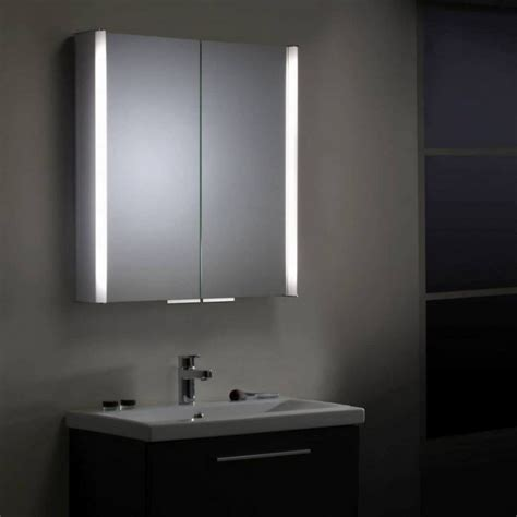 Bathroom Mirror Cabinet With Shaver Socket Unique Cabinets