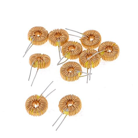 brass inductor 10 pcs toroid inductor wire wind wound 47uh 38mohm 3a coil ts ebay