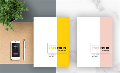 graphic designer portfolio template free 23 interesting brochure designs for your business