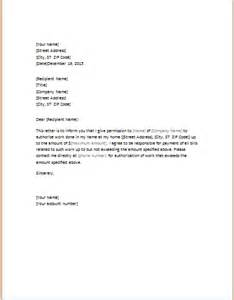 Authorization Letter Purpose Letter Of Authorization To Perform Work Word Amp Excel