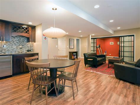 Remodeling Living Room Ideas Managing A Basement Remodel Hgtv