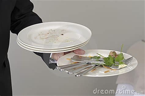 the table clearing away the table stock photos image 23707173