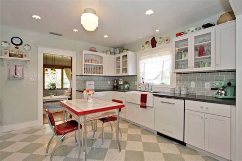 retro kitchen flooring kitchen astonishing retro kitchen renovation ideas