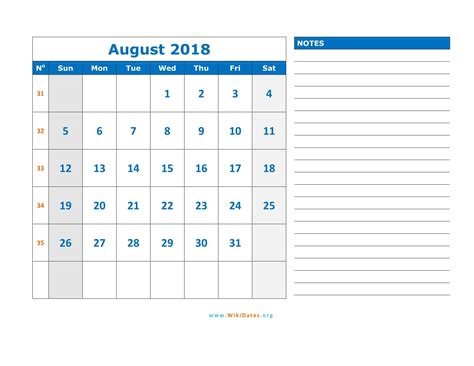 Tuvalu Calend 2018 Calendar Of August 2018 28 Images August 2018