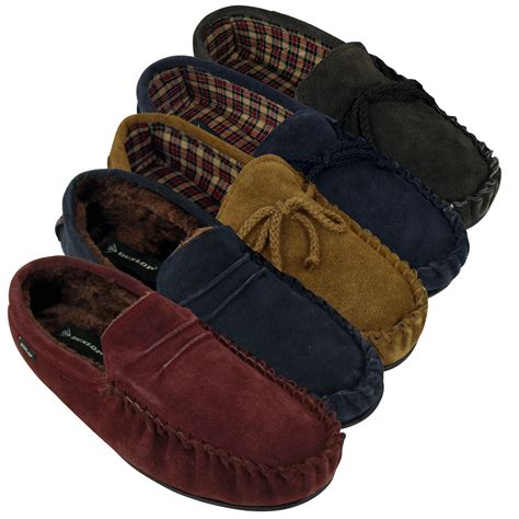 Slippers 12 Additional dunlop moccasin suede leather slippers moccasins