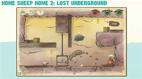 home sheep home 2 lost underground gameplay