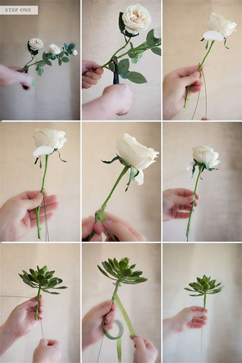 how to make a floral arrangement how to make a fake flower bridal bouquet