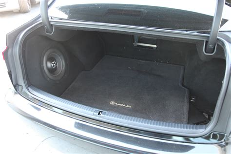 2015 lexus is 250 custom custom nvx subwoofer enclosure for lexus is series blog